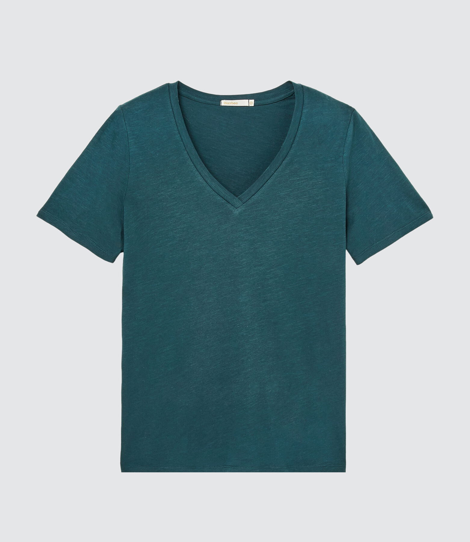 T-shirt essentiel col V coton IAB