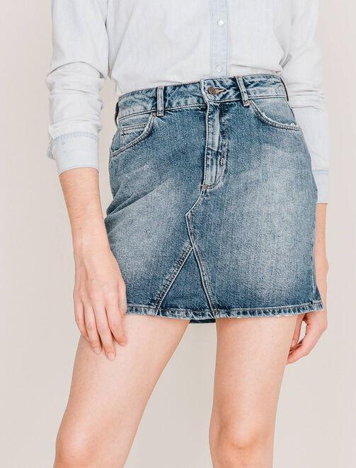Jupe en jean femme