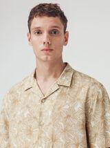 Chemise manches courtes imprimée