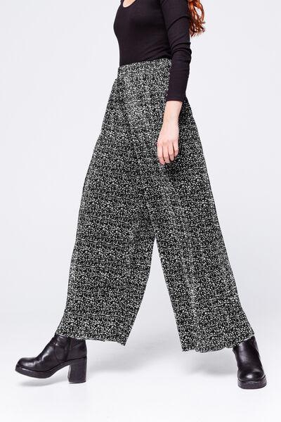 Pantalon Plissé Large Imprimé