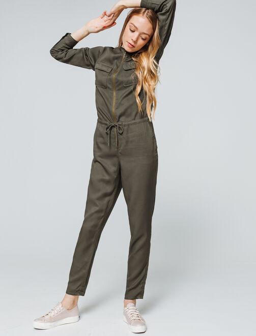 Combi-pantalon pompiste  femme