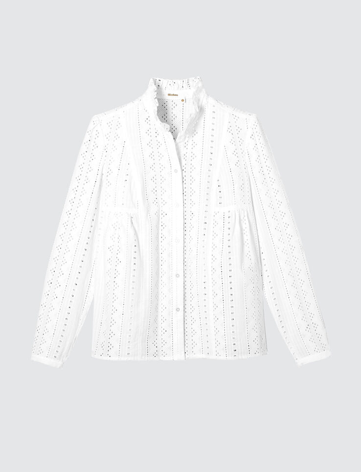 Chemise broderie anglaise