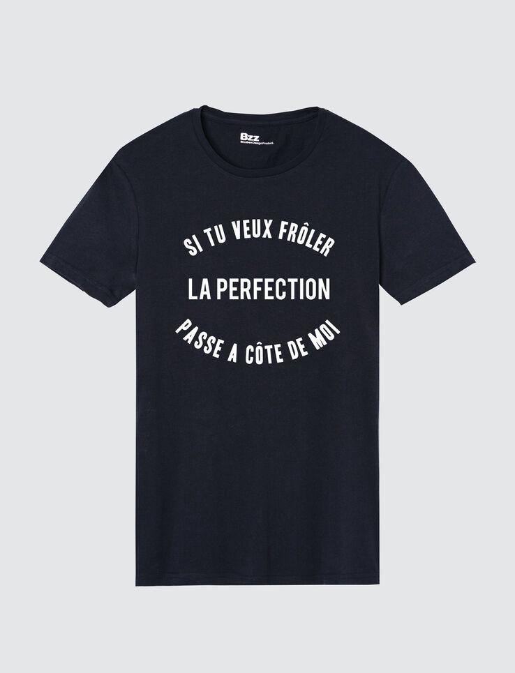 """T-shirt humour """"Frôler la perfection"""""""