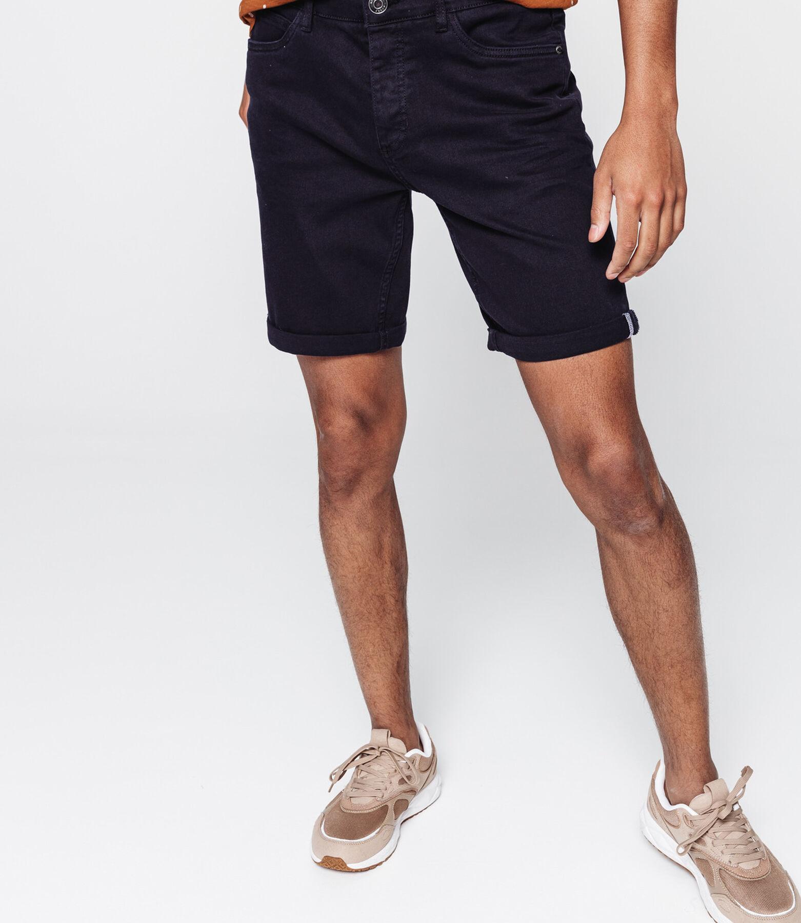 Bermuda en jean 5 poches