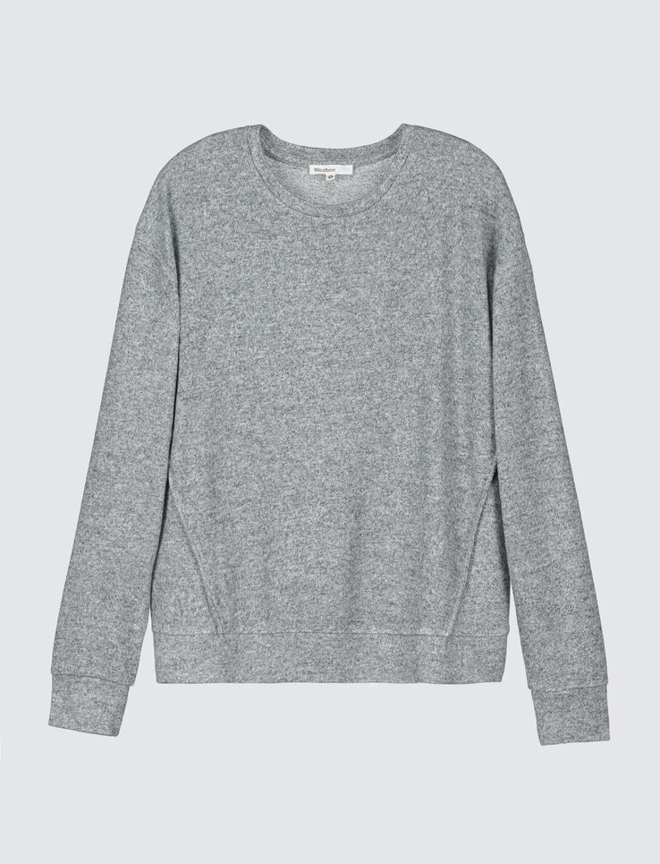 Pull col rond tout doux
