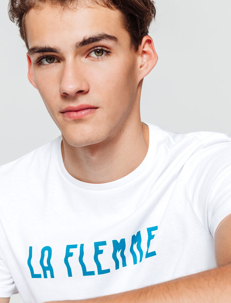 T-shirt message LA FLEMME