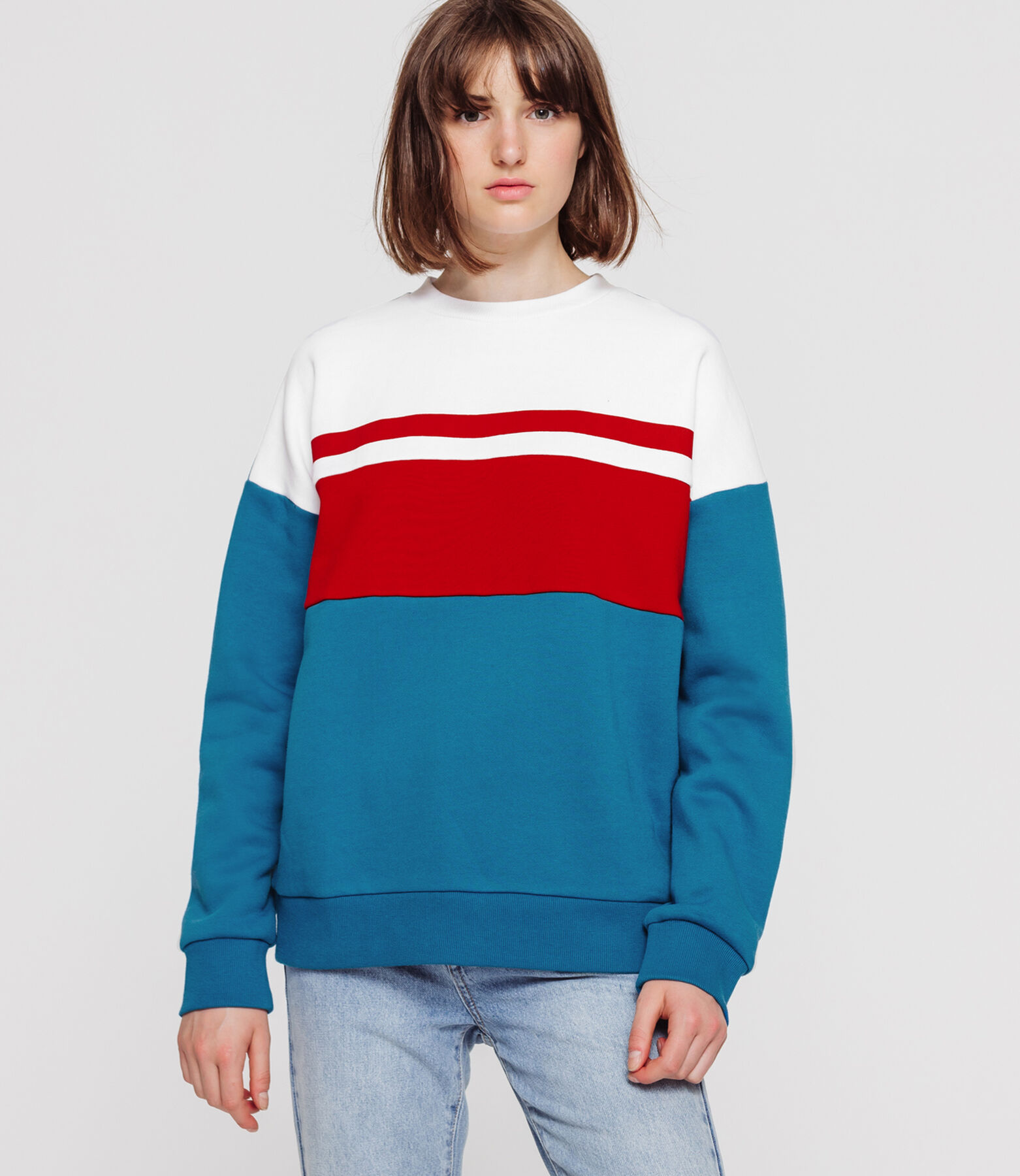 Sweat colorblock
