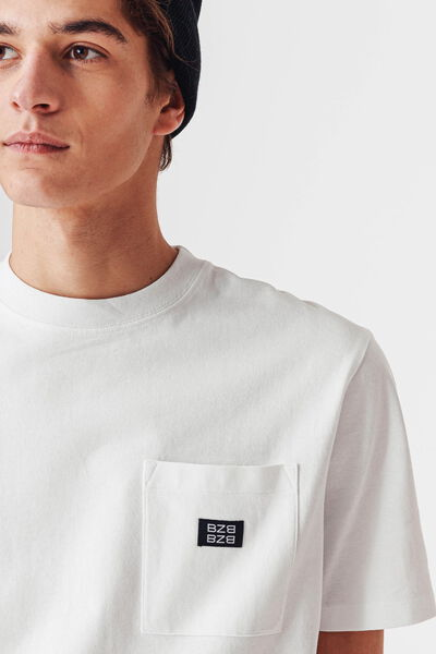 T-shirt uni lourd oversized