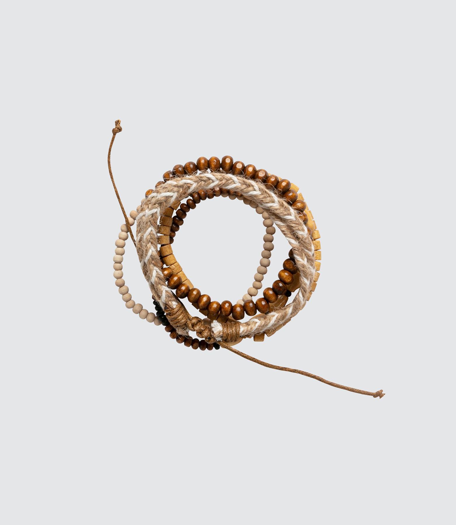 Set de Bracelets Marron