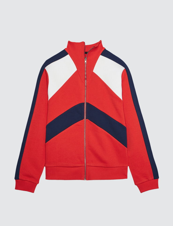 Veste colorblock