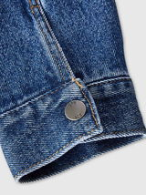 Veste en jean couleur