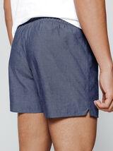 Pyjama Caleçon et Tee Shirt Imprimé