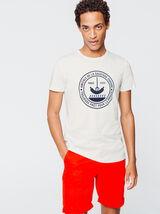 """T-shirt à message """"Amicale de la saucisse chaude"""""""