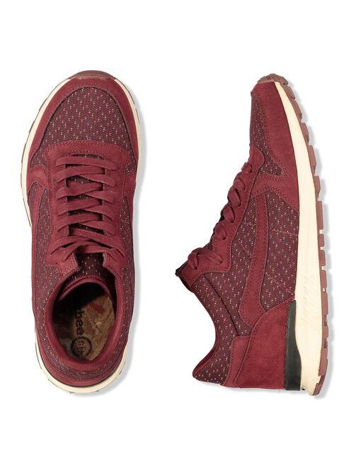 Sneakers bordeaux homme