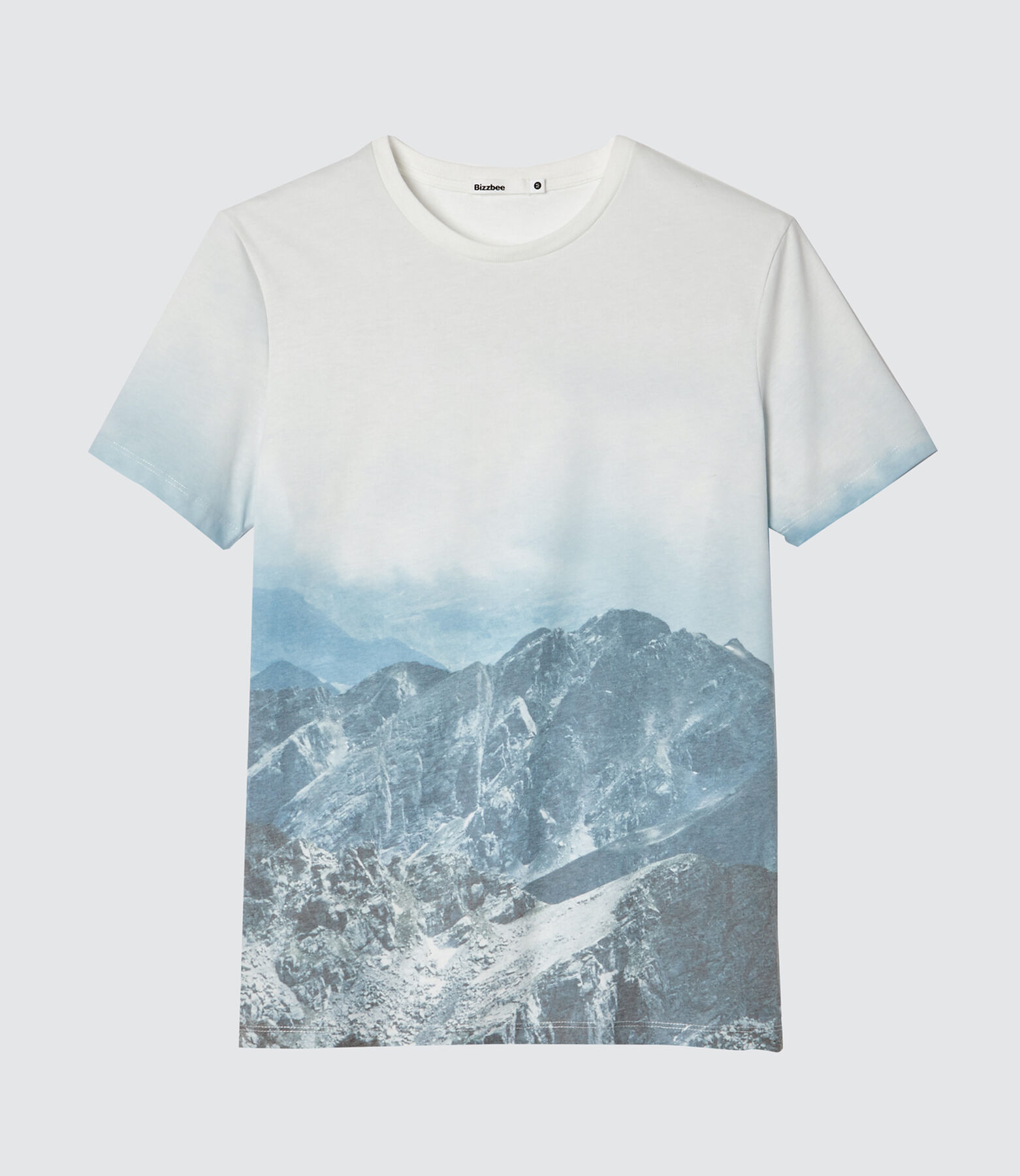 T-shirt sublimation montagne