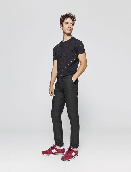 Pantalon de ville fantaisie homme