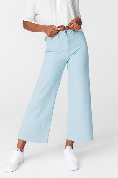 Jean Wide Leg Couleur