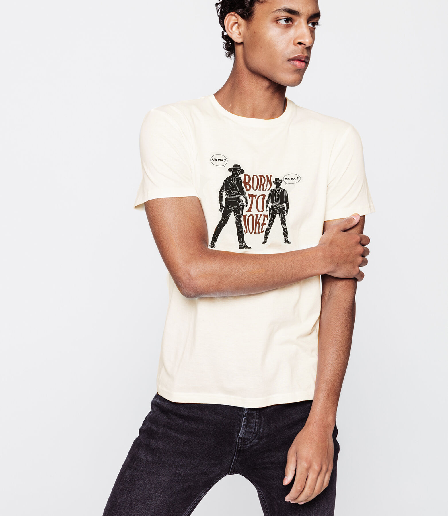T-shirt avec print western