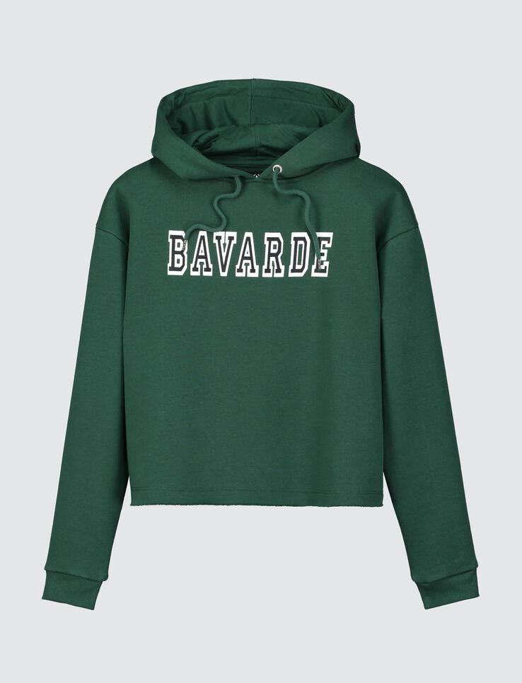 "Sweat cropped "" BAVARDE"""