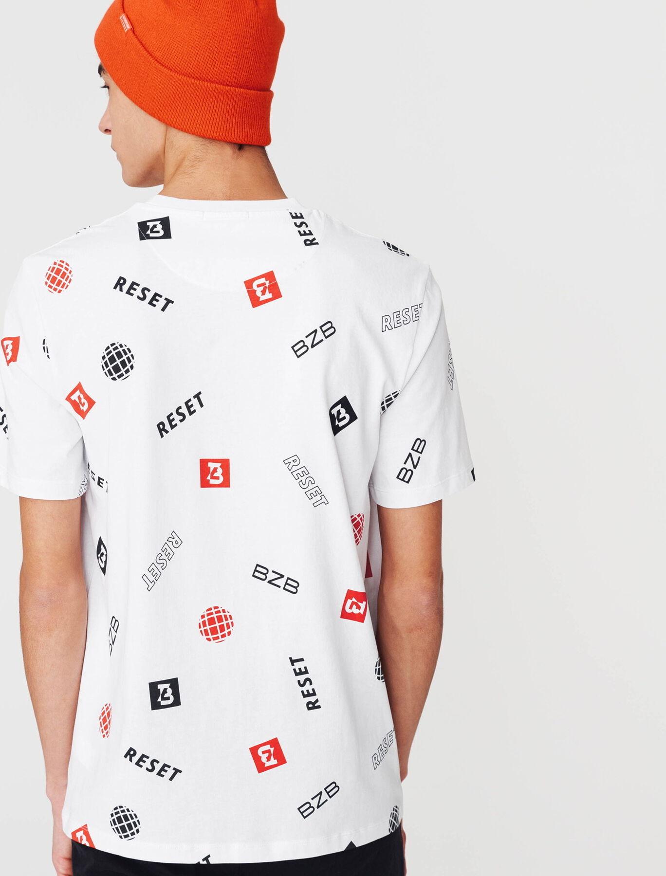 T-shirt print graphique