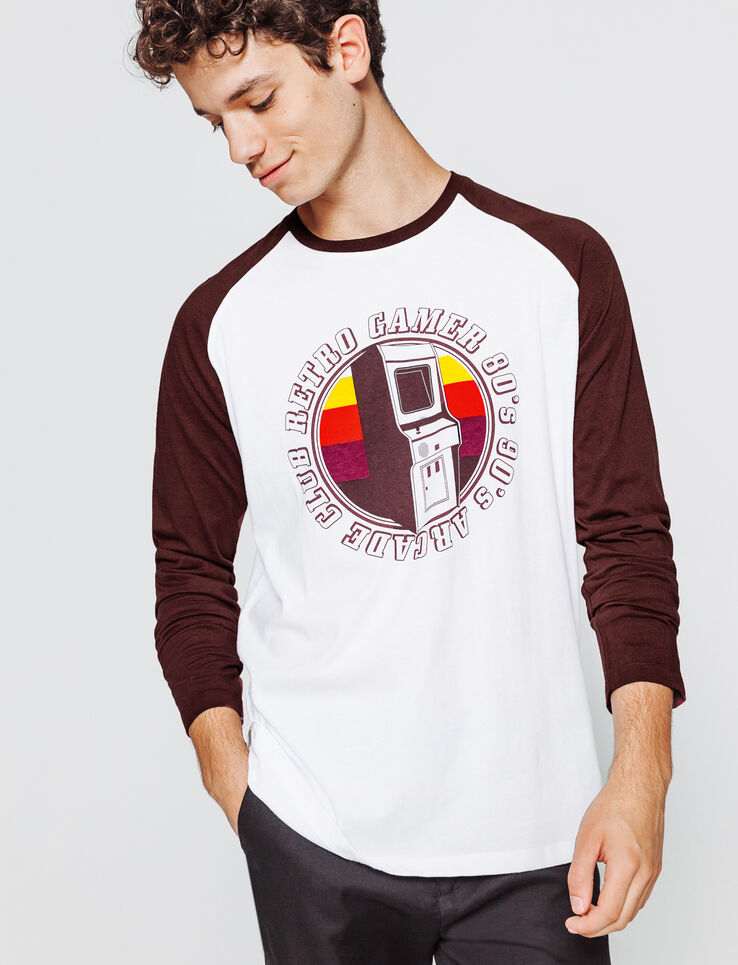 T-shirt raglan photoprint