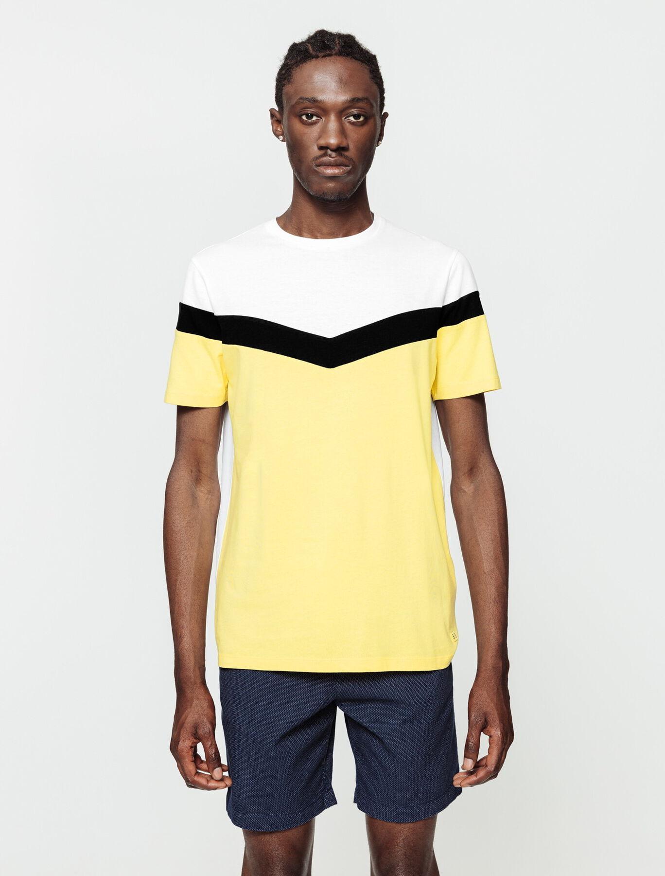 T-shirt colorblock