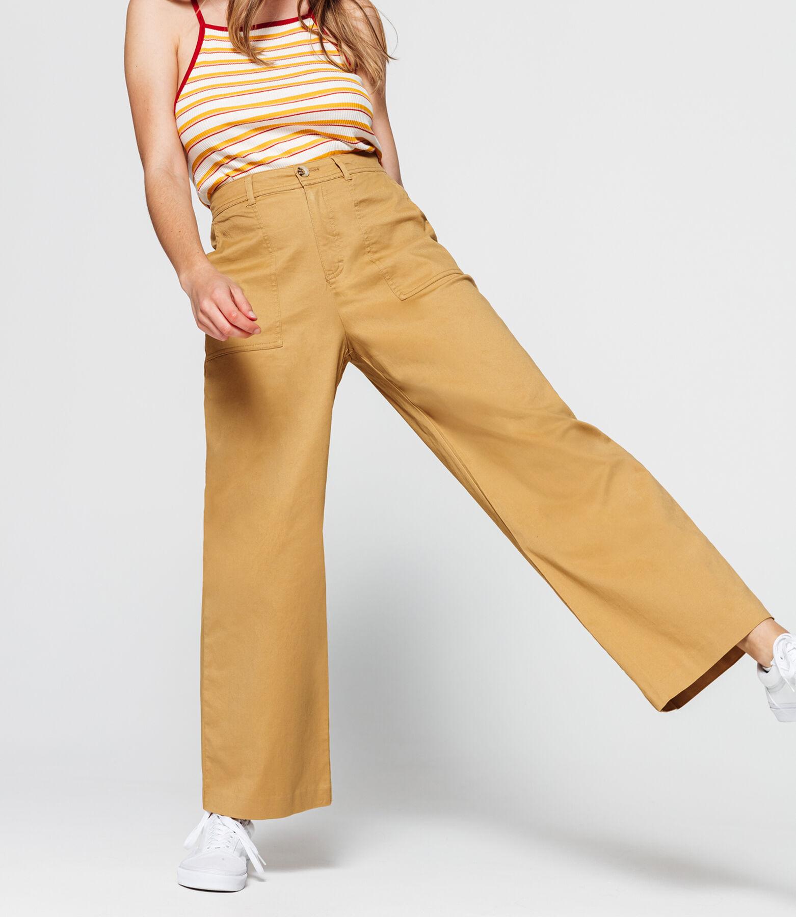 Pantalon Coton à Pinces