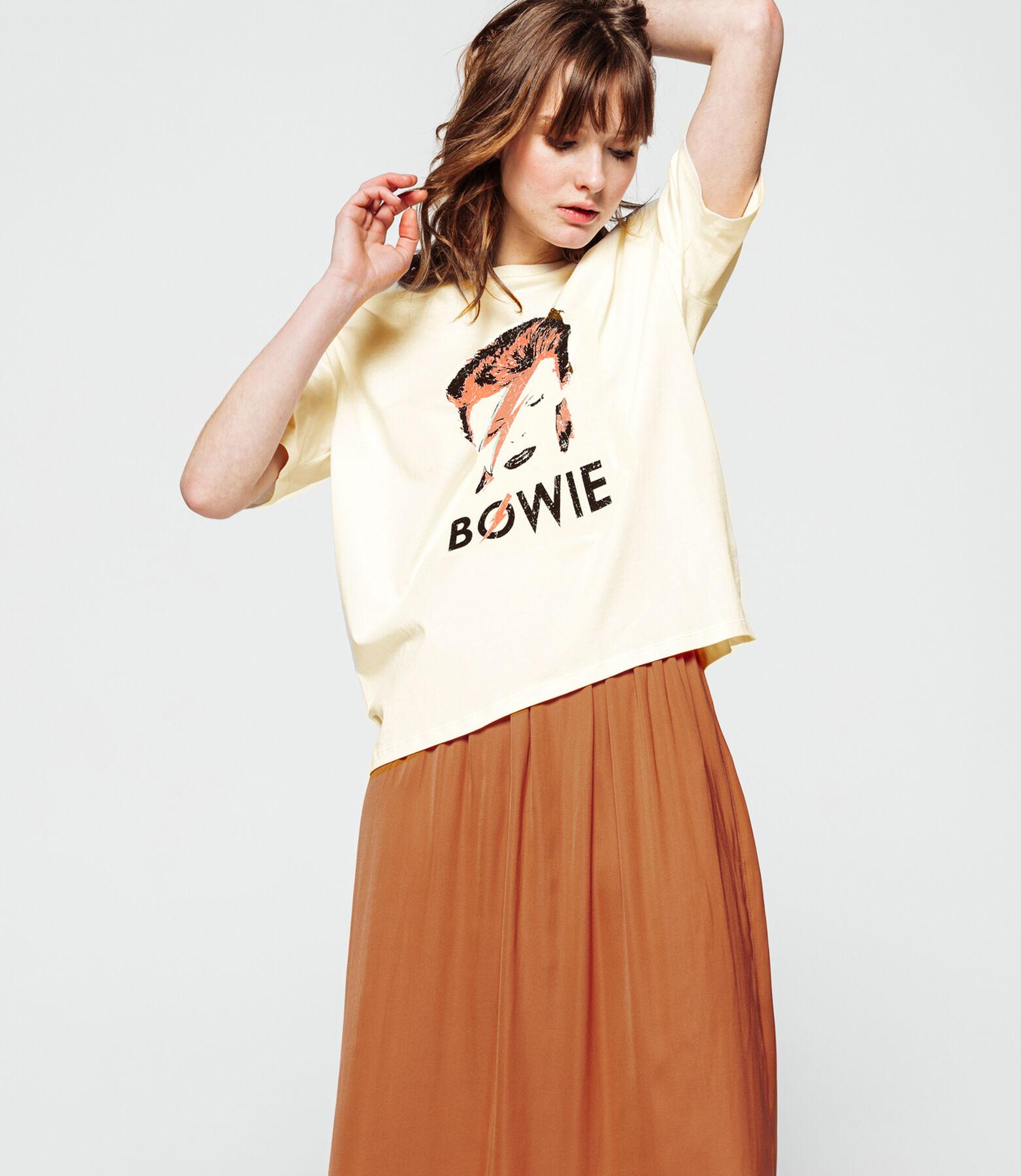 T-shirt groupe de rock Bowie