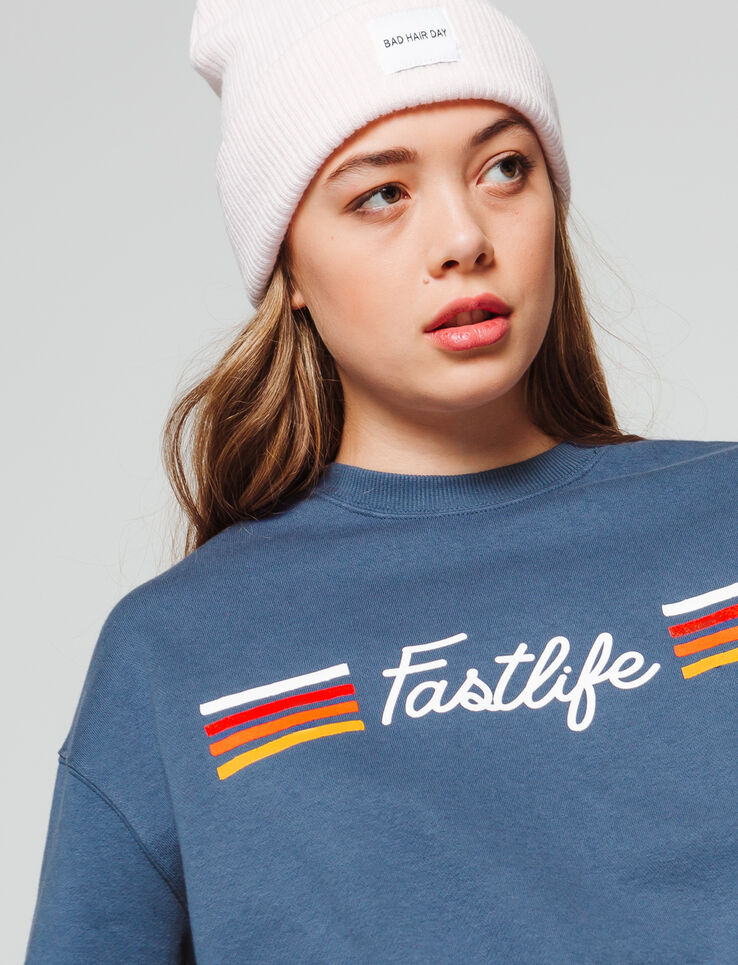 "Sweat message "" Fast life"""