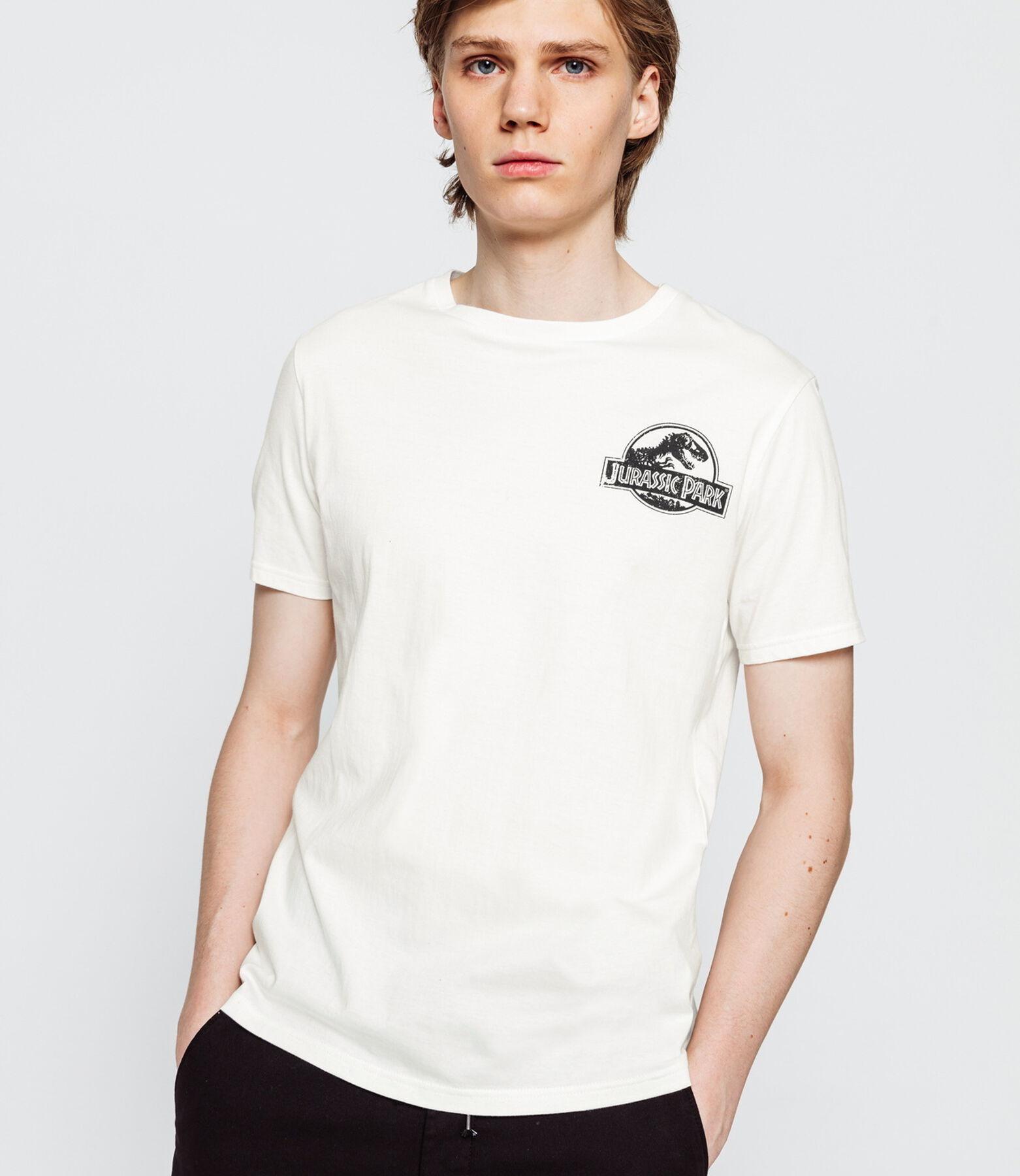 T-shirt Jurassic Park devant dos