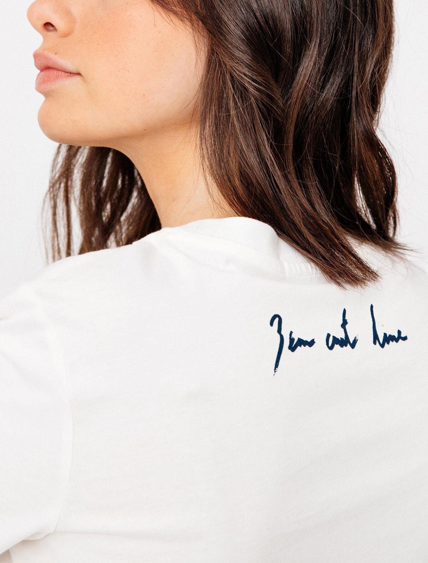 T-shirt bio unisexe Bizzbee x Ben Art Line