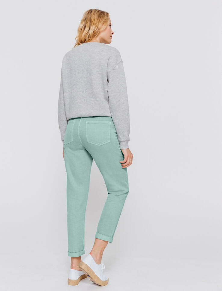Jeans MOM taille haute couleur
