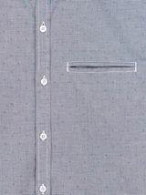 Chemise brodée poche poitrine