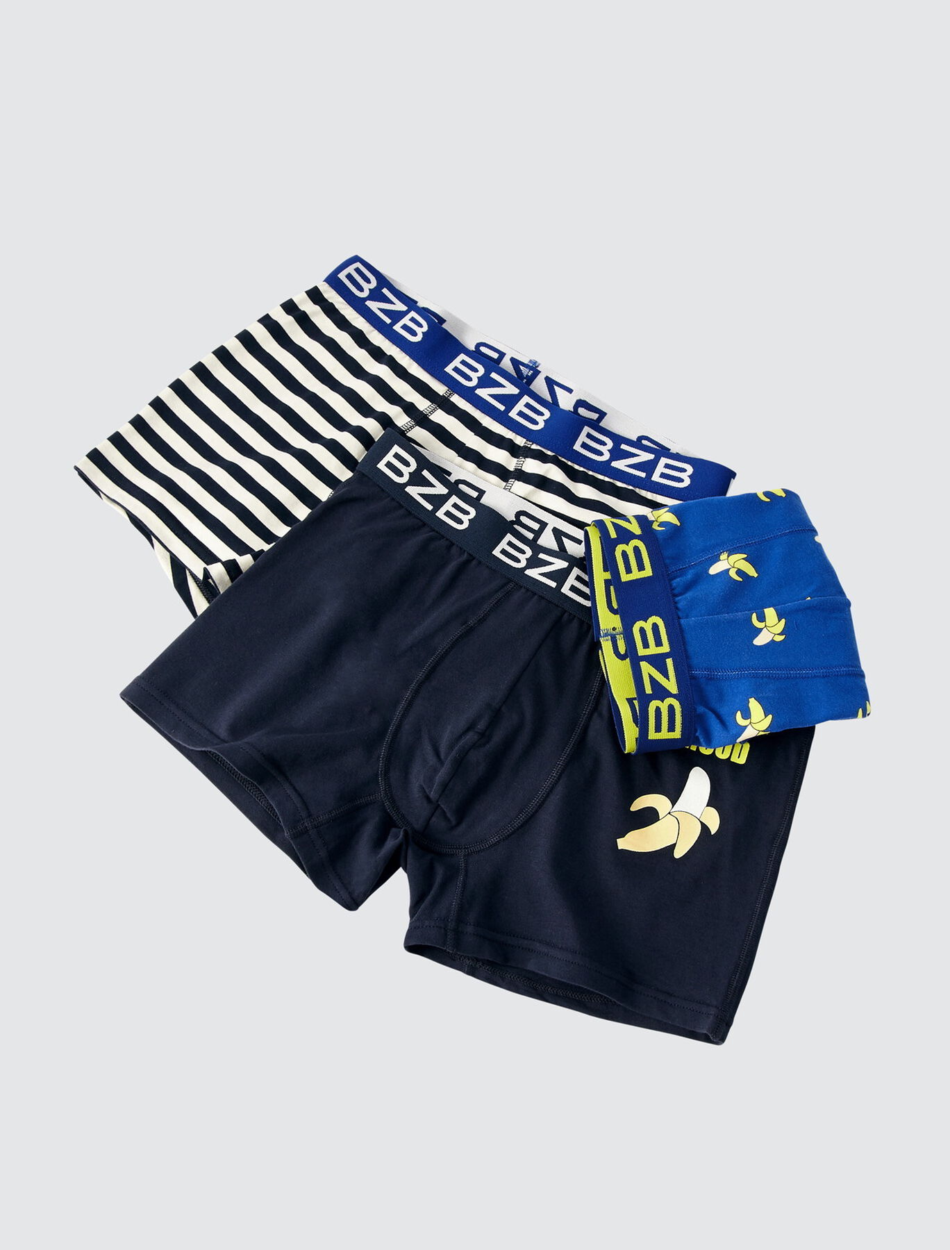 Boxers fantaisies IAB Lot*3