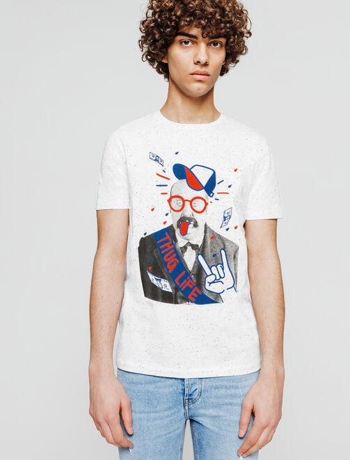 T-shirt Thug Life homme