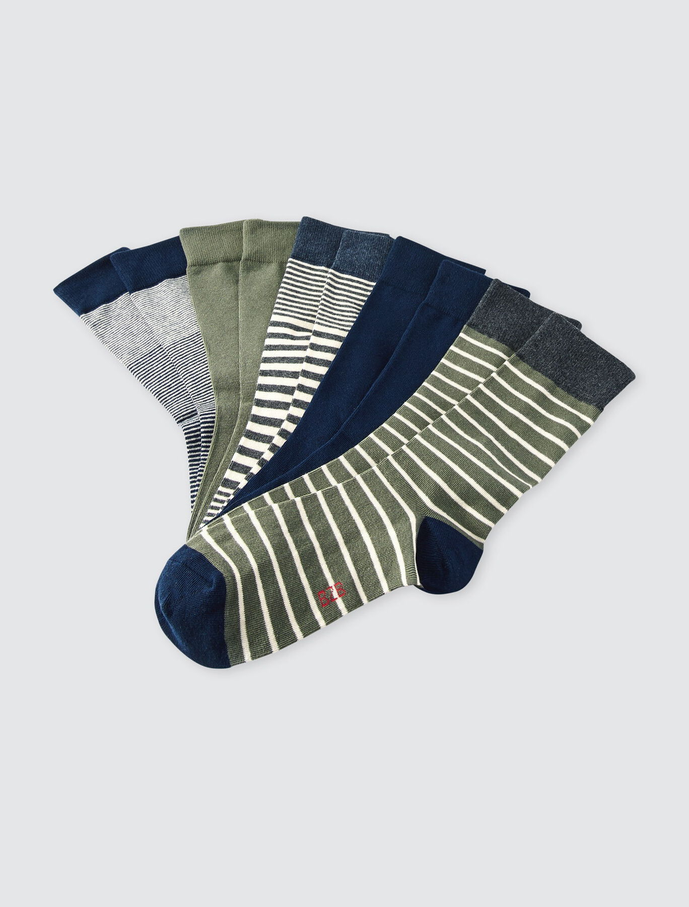 Chaussettes *5 rayées