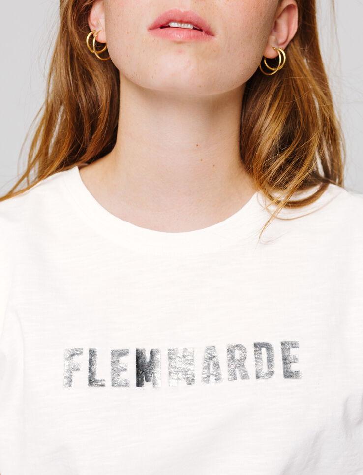 """T-shirt à message """" FLEMMARDE"""""""