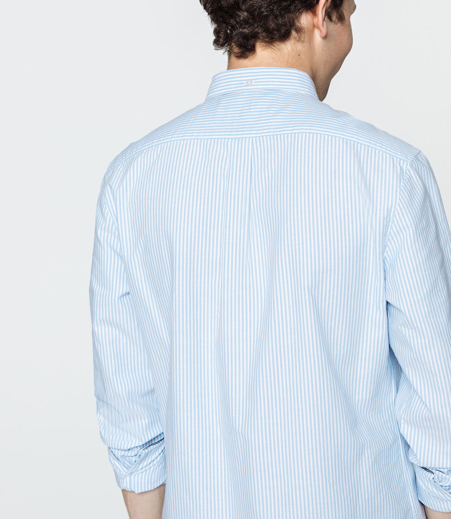 Chemise rayée manches longues