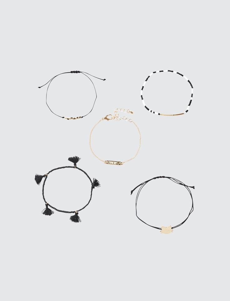 Set 5 Bracelets Chaton