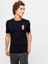 T-shirt licence  SIMPSONS brodé