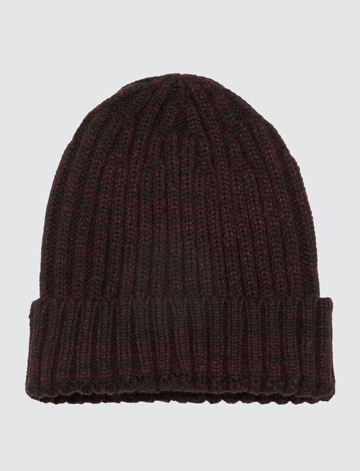 Bonnet Basique Tricot à Côtes