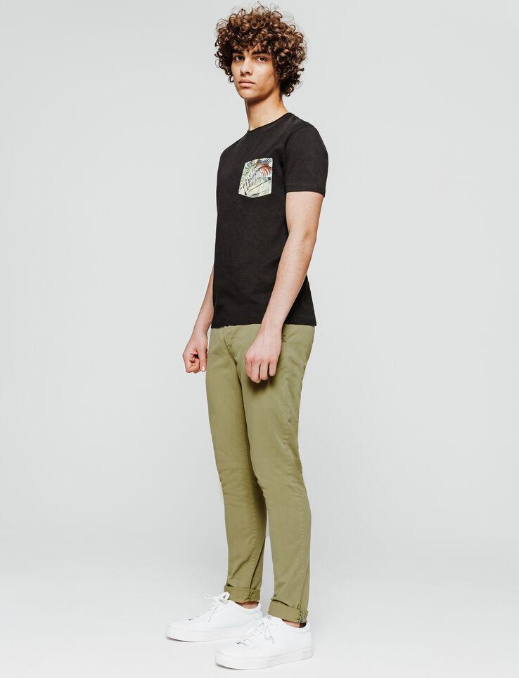 Chino basique en coton