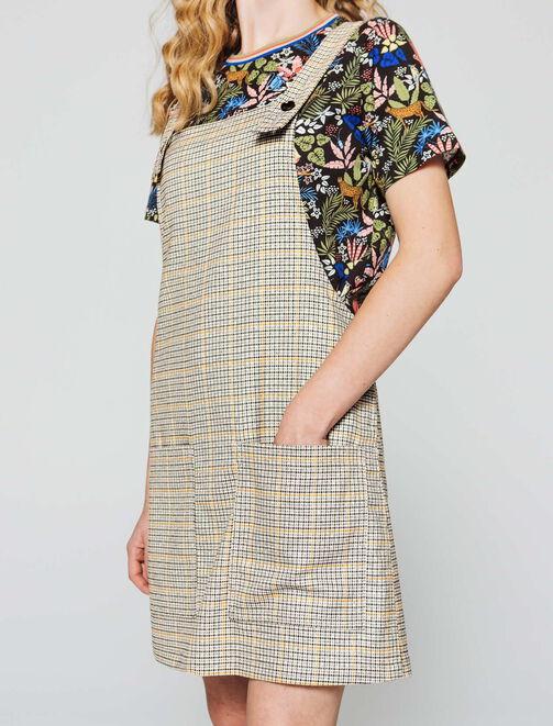 Robe salopette  femme