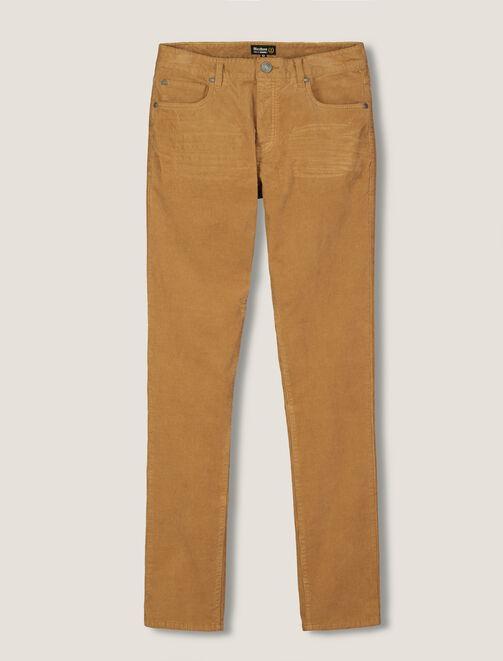 Pantalon 5 Poches Velours homme