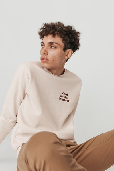 Sweat-shirt brodé