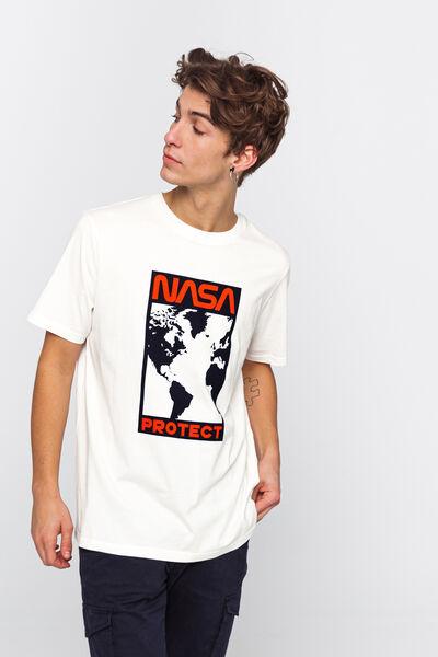 T-shirt licence NASA avec imprimé devant