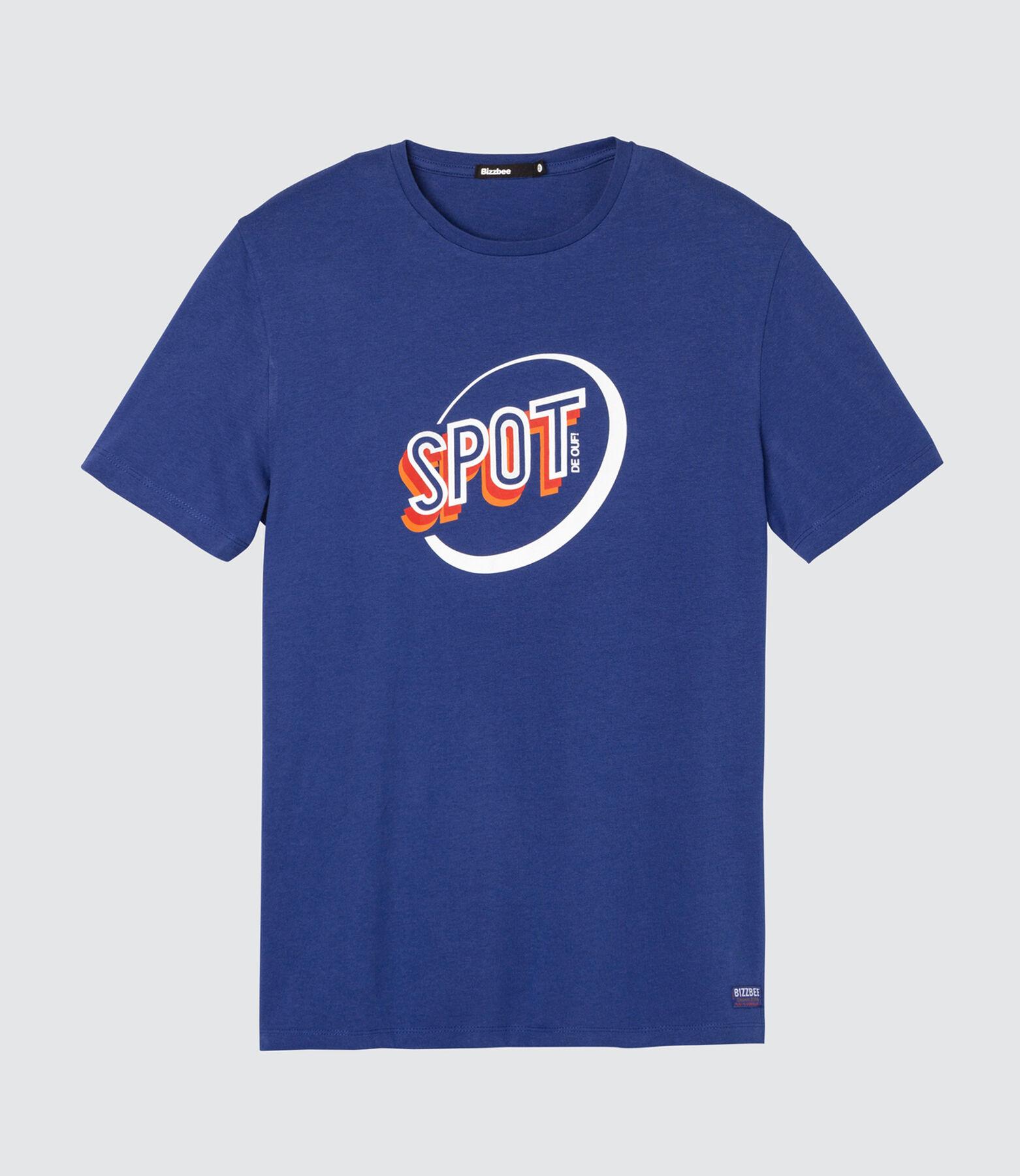 T-shirt coton manches courtes imprimé logo