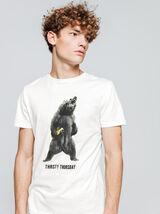 """T-shirt print placée """"Thirsty Thursday"""""""