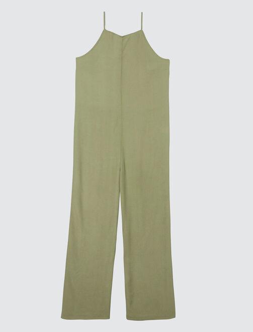 Combi-pantalon fines bretelles  femme