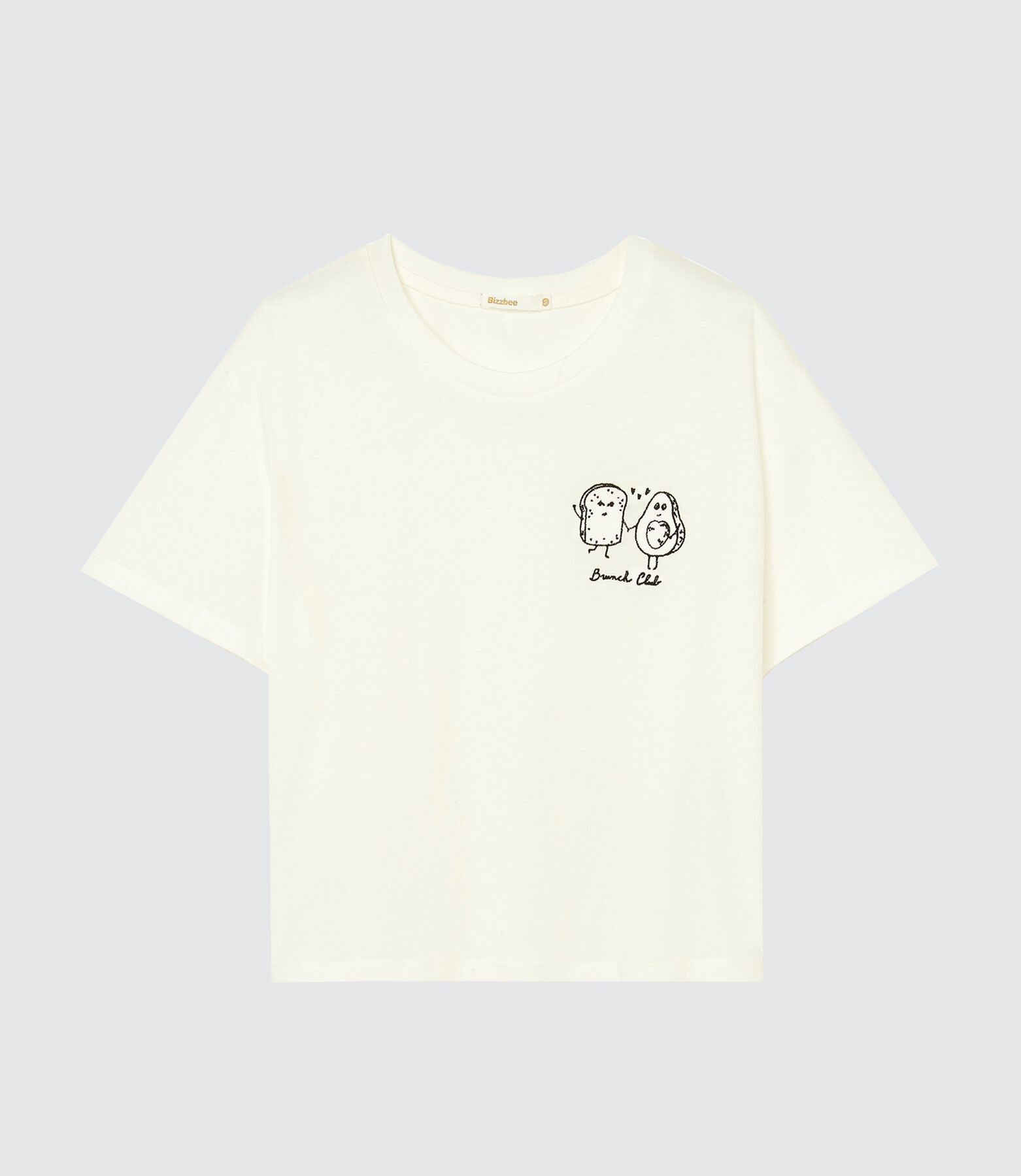 """T-shirt brodé """"brunch club"""""""